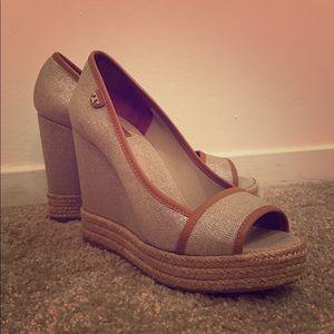 Tory Burch wedge heel sandals